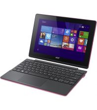 Laptop 2-in-1 ACER SWITCH 10 SW3,10.1 inch MultiTouch IPS, Intel Atom Z3735F 1.33GHz, 2GB RAM, 64GB flash, Win 10 Home, Pink