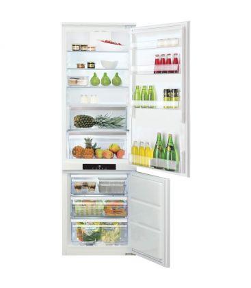 Combina frigorifica incorporabila HOTPOINT BCB 7030 AA F C, No Frost, 260 l, Clasa A+, H 177, Alb