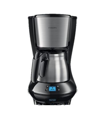 Cafetiera PHILIPS Daily Collection HD7470/20, 1000 W, 1.2 l, Negru