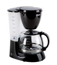 Cafetiera VANORA VCM-800BK, 750W, 1.25 L, Filtru detasabil, Functie anti-picurare, Mentinere cald, Negru